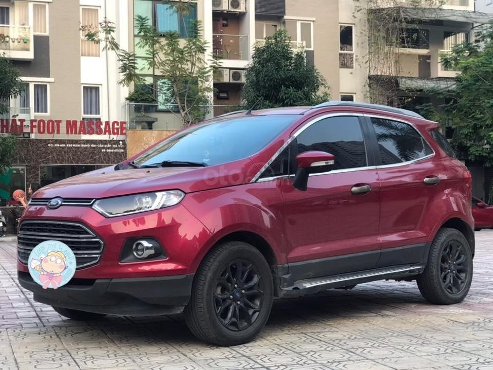 Cần bán xe Ford EcoSport 1.5L AT Titanium năm sản xuất 2016, màu đỏ, giá tốt (1)
