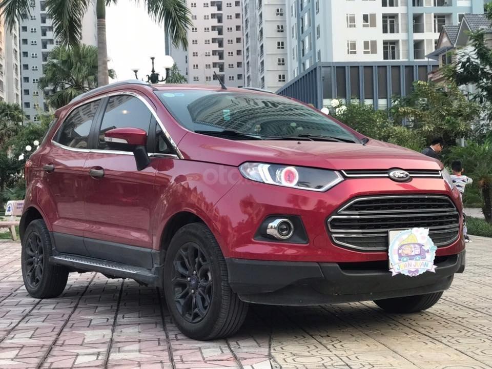 Cần bán xe Ford EcoSport 1.5L AT Titanium năm sản xuất 2016, màu đỏ, giá tốt (10)