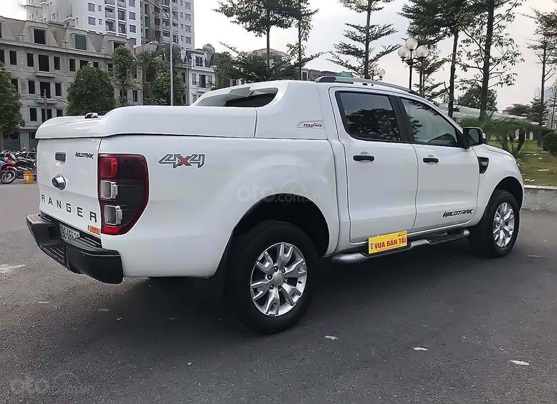 Cần bán Ford Ranger Wildtrak 3.2 4x4 AT năm sản xuất 2015, màu trắng, nhập khẩu số tự động (2)