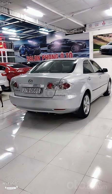 Cần bán Mazda 6 2.0MT năm sản xuất 2003, màu bạc số sàn, 189 triệu (2)
