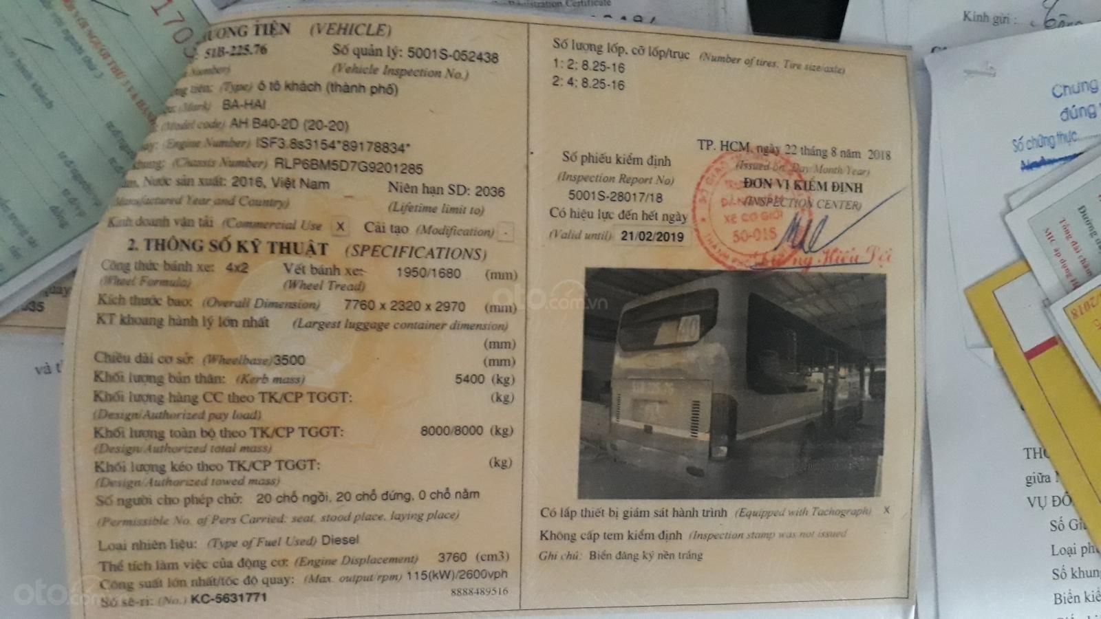 Ngân hàng bán phát mại lô xe Bus Bahai 40 chỗ (7)