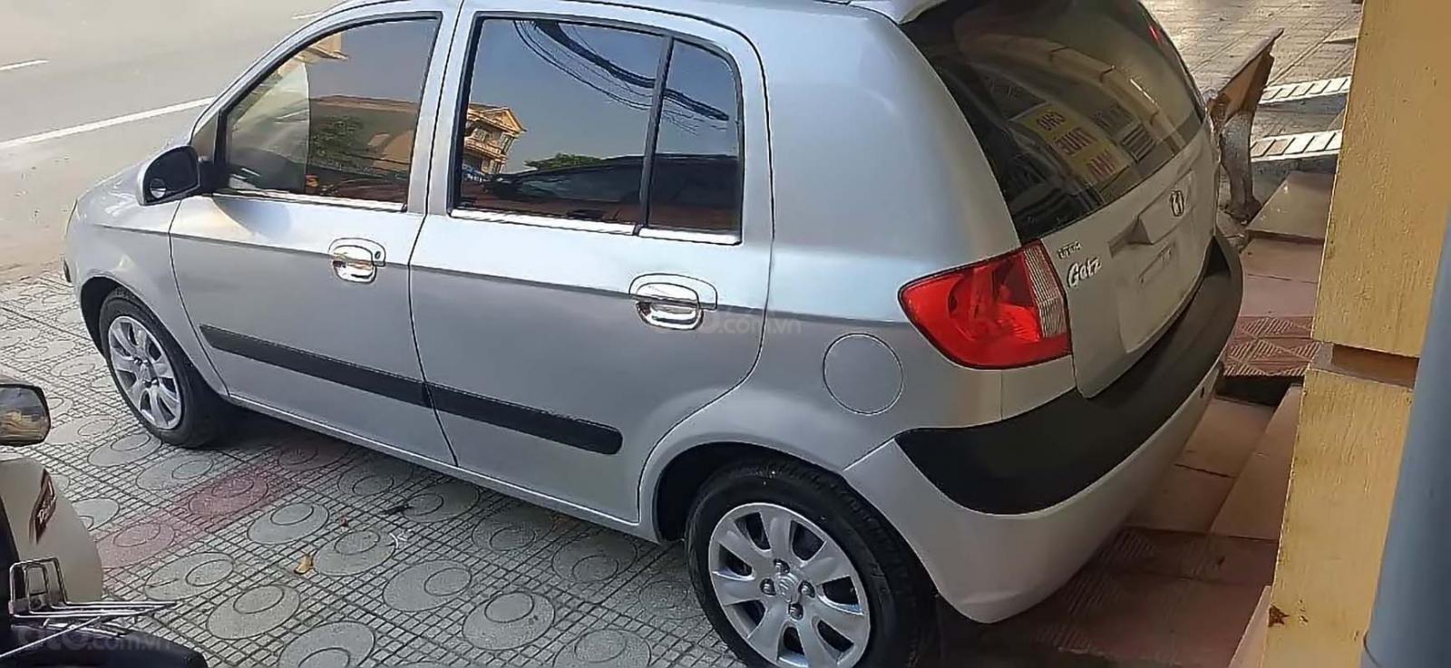 Bán Hyundai Getz 1.1 MT năm sản xuất 2009, màu bạc, nhập khẩu  (5)