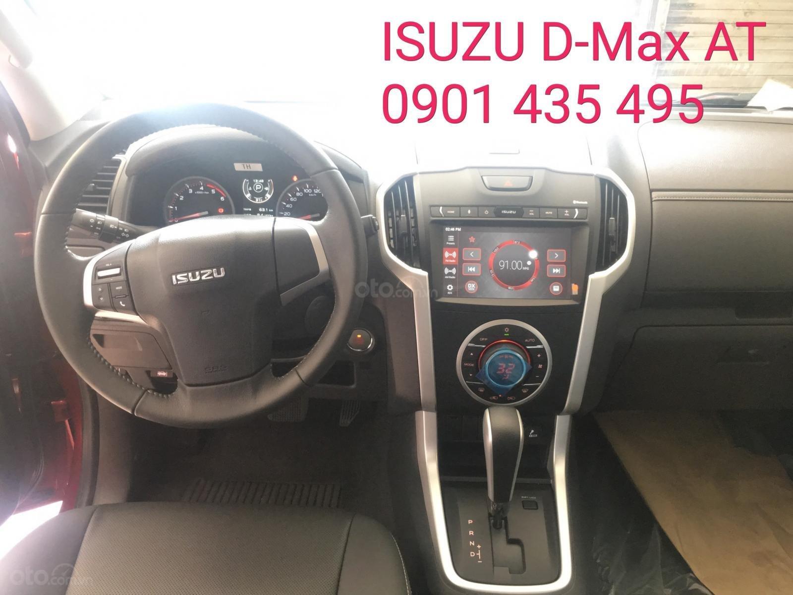 Bán Isuzu D-Max tự động 1.9 tự động Turbo tăng áp, KM nắp thùng, camera lùi (5)