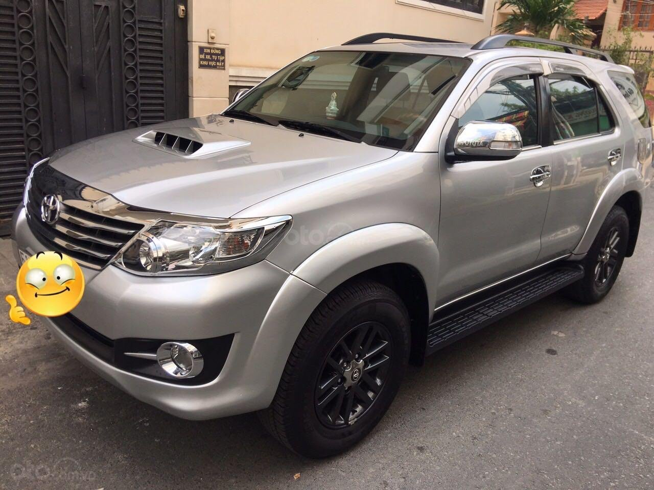 Bán xe Toyota Fortuner năm 2016, màu bạc còn mới, giá chỉ 790 triệu đồng (2)