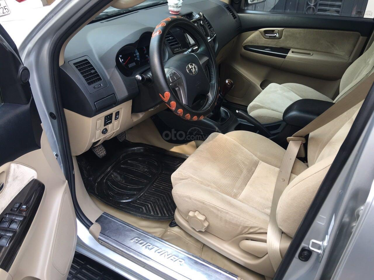 Bán xe Toyota Fortuner năm 2016, màu bạc còn mới, giá chỉ 790 triệu đồng (4)