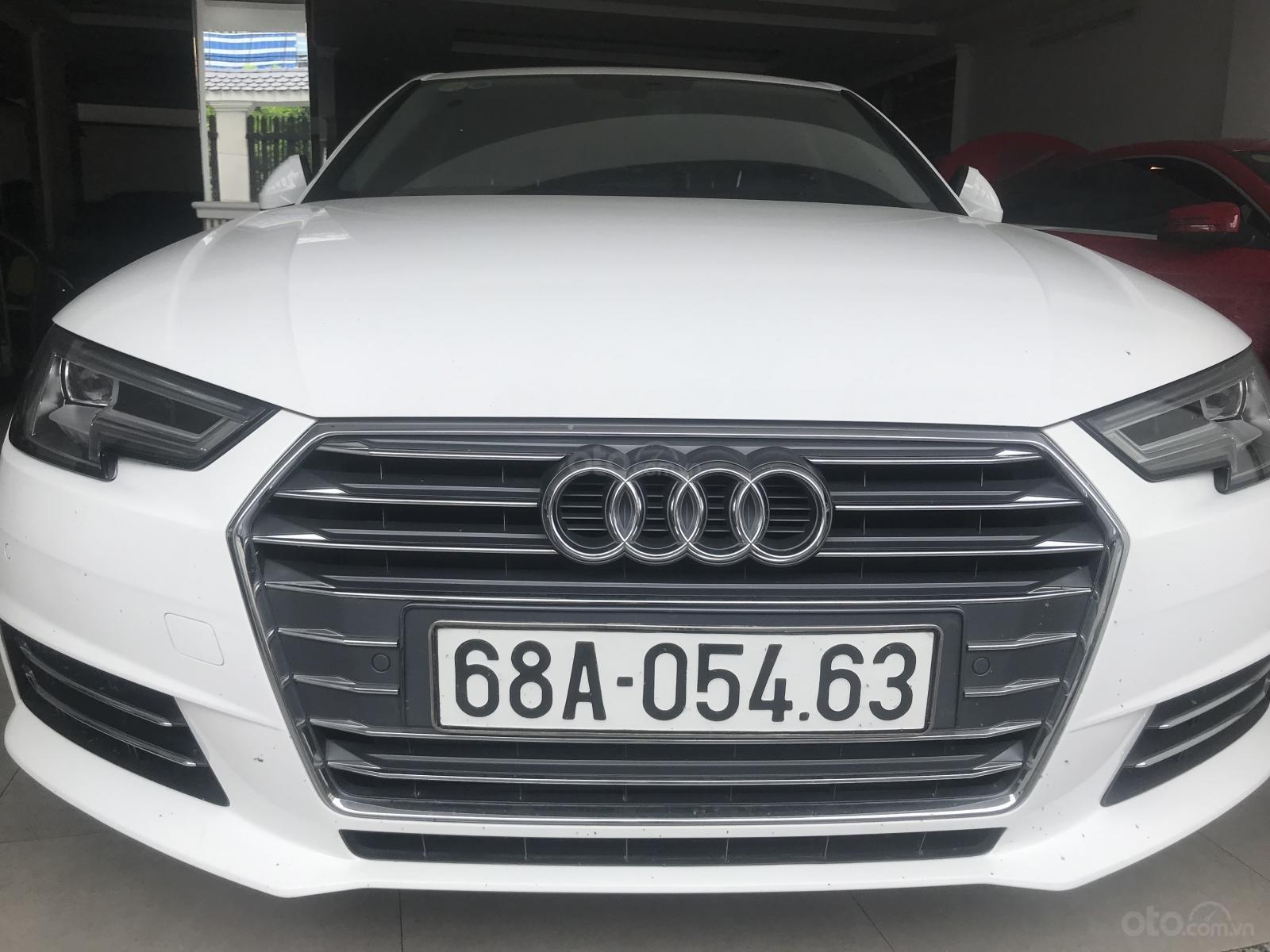 Bán Audi A4 2016 xe đi 25.000km, bảo hành chính hãng, mẫu mới nhất hiện nay, chất lượng xe bao kiểm tra hãng (1)