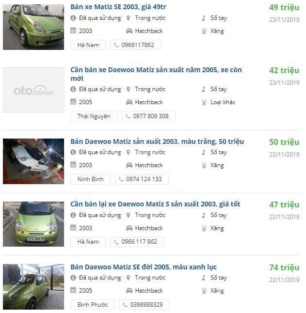Daewoo Matiz cũ chưa đến 100 triệu đồng, có nên mua? 4a