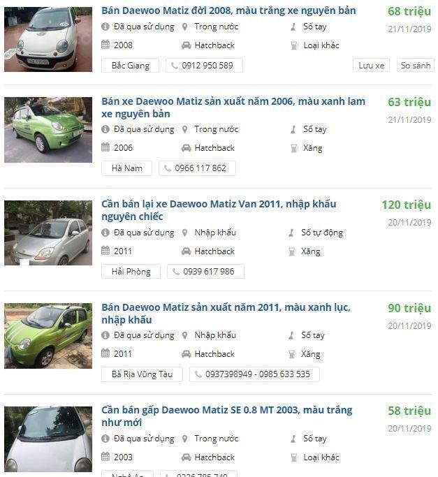Daewoo Matiz cũ chưa đến 100 triệu đồng, có nên mua? 3a