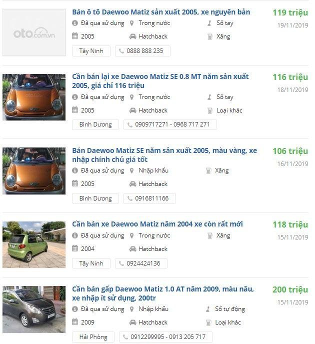 Daewoo Matiz cũ chưa đến 100 triệu đồng, có nên mua? 2a
