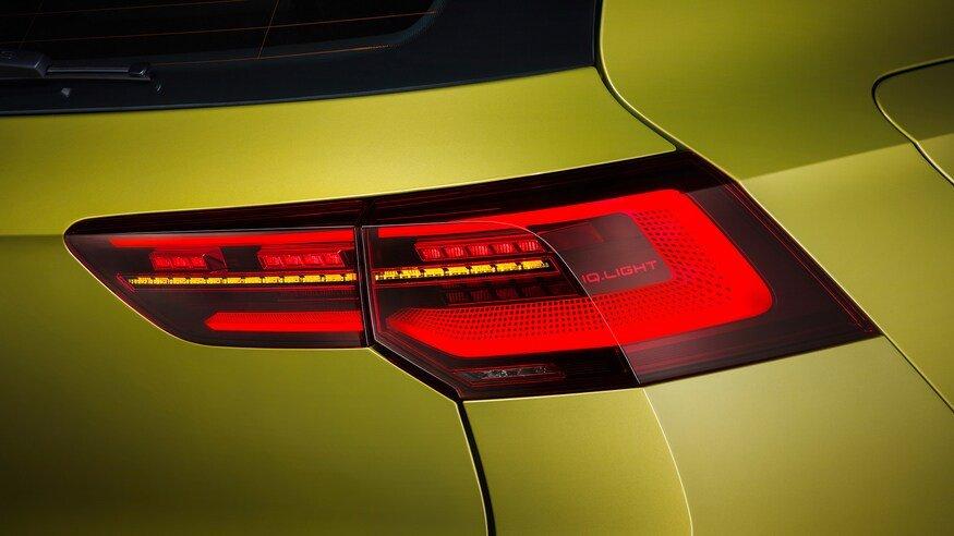 Đánh giá xe Volkswagen Golf 2020: đèn hậu