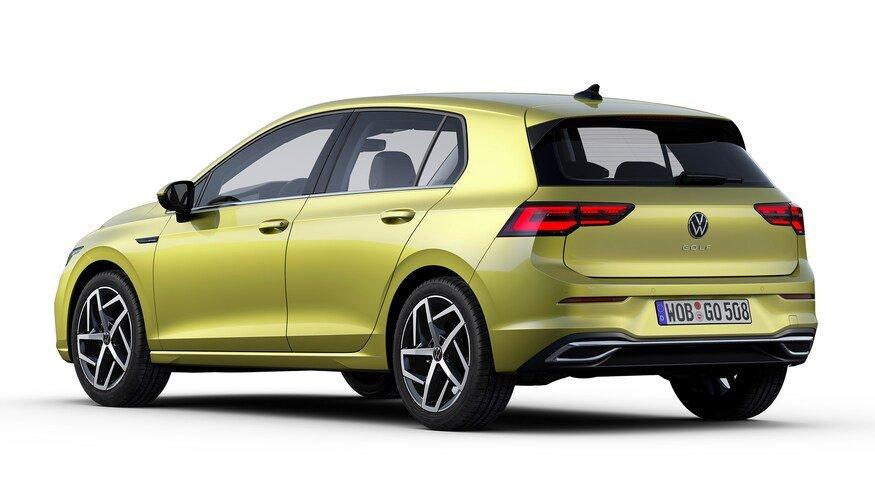 Đánh giá xe Volkswagen Golf 2020 về đuôi xe.