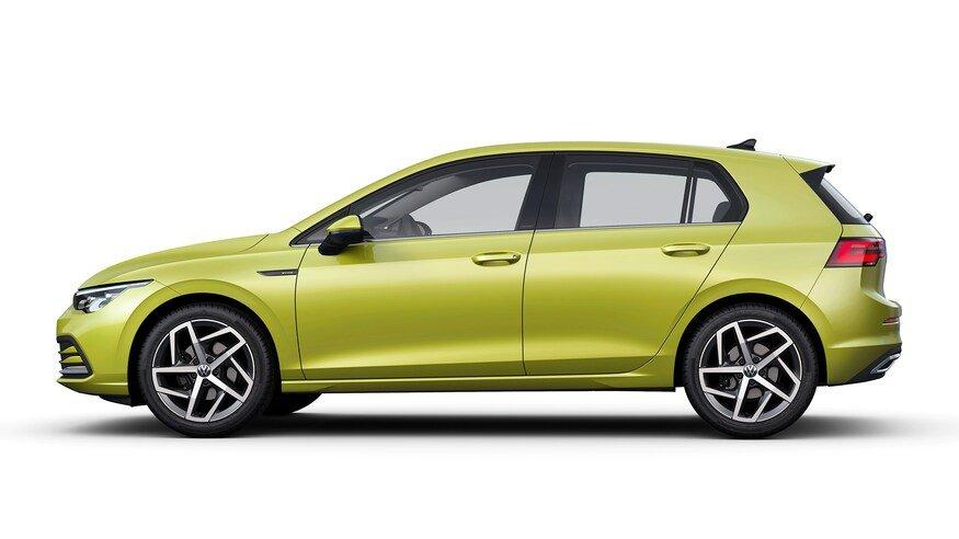 Đánh giá xe Volkswagen Golf 2020: chính diện thân xe