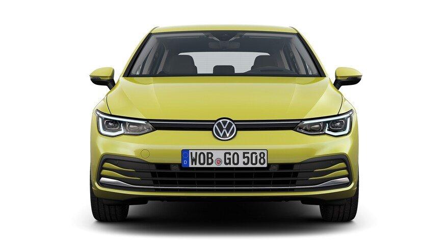 Đánh giá xe Volkswagen Golf 2020 về đầu xe.