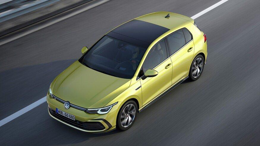 Đánh giá xe Volkswagen Golf 2020: góc 3/4 đầu xe