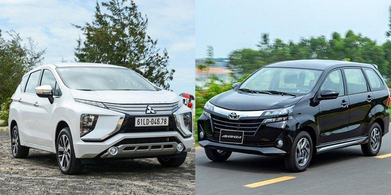 So sánh Mitsubishi Xpander với Toyota Avanza 2019