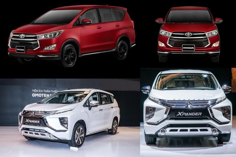 So sánh Mitsubishi Xpander với Toyota Innova