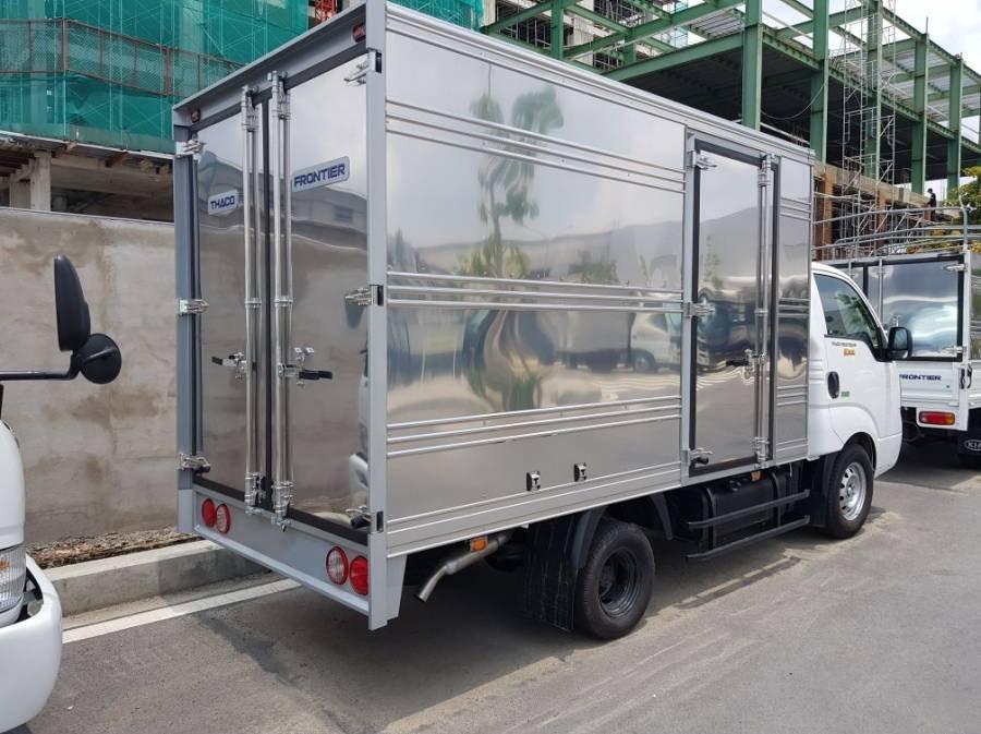 Bán xe tải Kia Frontier K200 sản xuất năm 2019, màu trắng, 1 tấn, thùng kín (3)