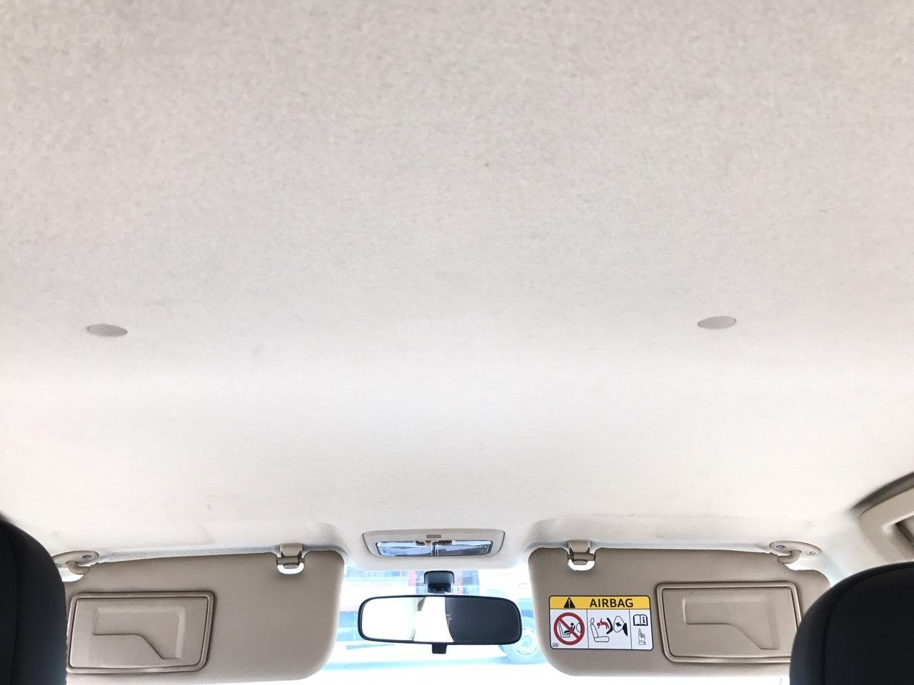 Bán xe Toyota Vios 1.5E CVT 2017, màu bạc, 1 chủ không lỗi nhỏ, xe mới cứng (22)