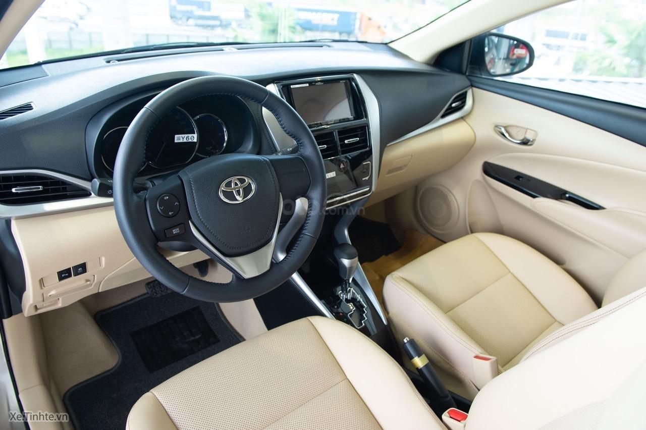 Toyota Vios 2019 mới giá tốt, mua trả góp lãi suất 0% 165 triệu, giao xe ngay tất cả các tỉnh (6)