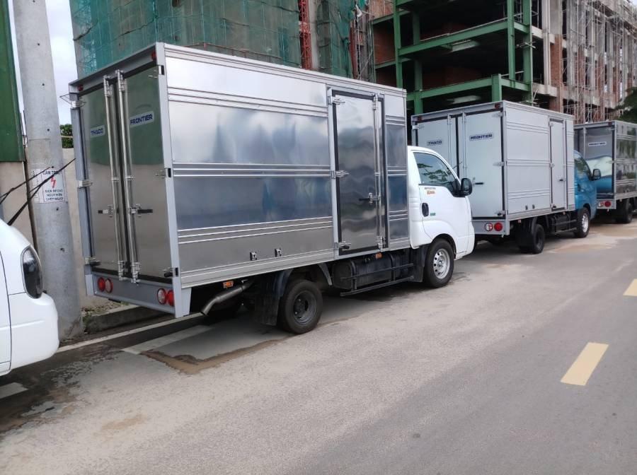 Bán xe tải Kia Frontier K200 sản xuất năm 2019, màu trắng, 1 tấn, thùng kín (6)