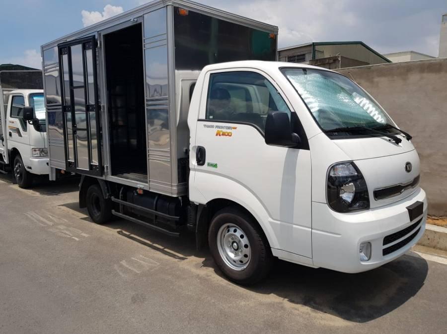 Bán xe tải Kia Frontier K200 sản xuất năm 2019, màu trắng, 1 tấn, thùng kín (2)