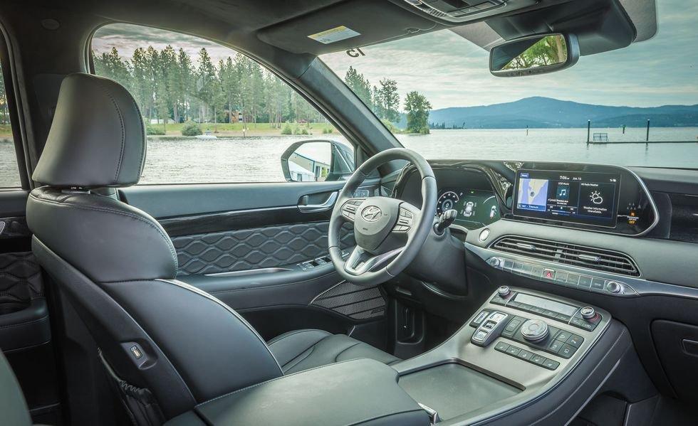 Khoang nội thất rộng lớn của Hyundai Palisade