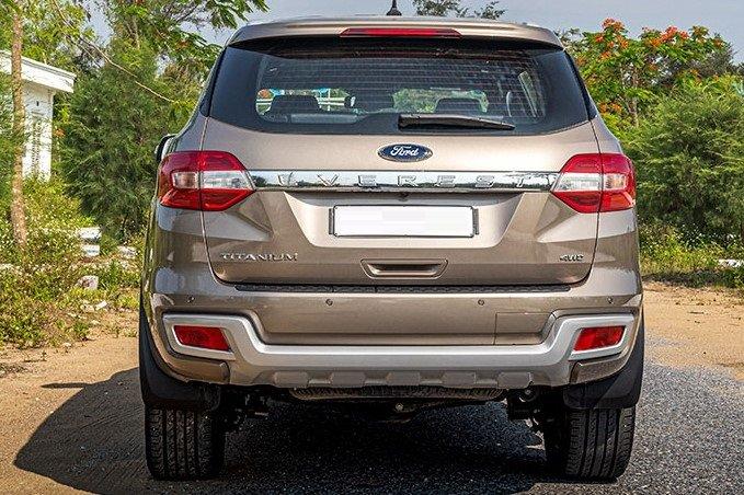Thiết kế đuôi xe Ford Everest 2020