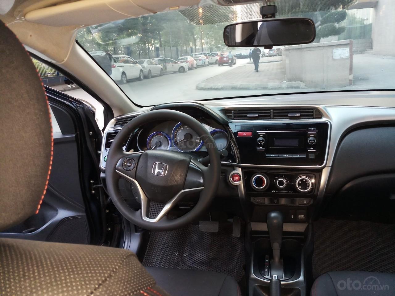 Ô Tô Thủ Đô bán xe Honda City AT 2017, màu đen 505tr (11)