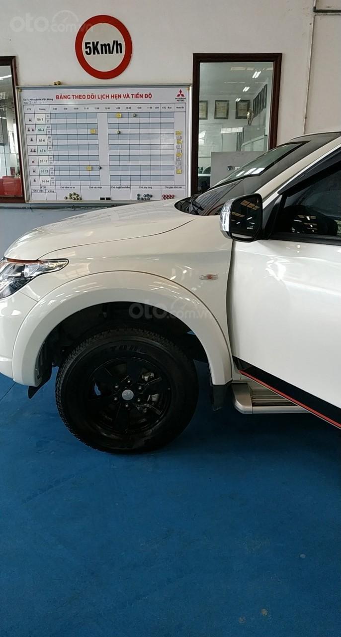 Bán ô tô Mitsubishi Triton đời 2018, màu trắng, nhập khẩu nguyên chiếc, giá tốt (4)