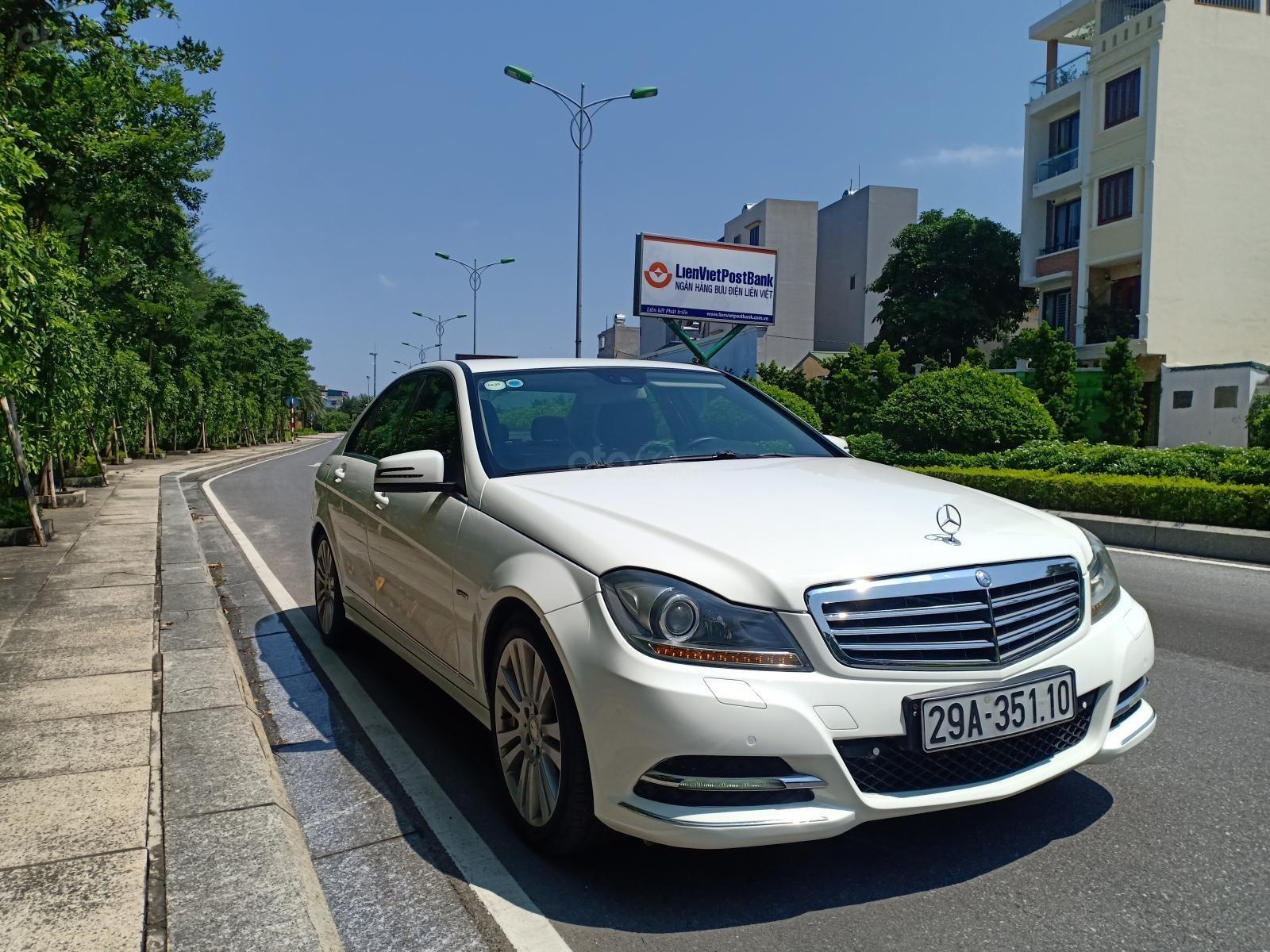 Bán ô tô Mercedes C250 sản xuất 2011, màu trắng, giá tốt, xe cực đẹp (15)