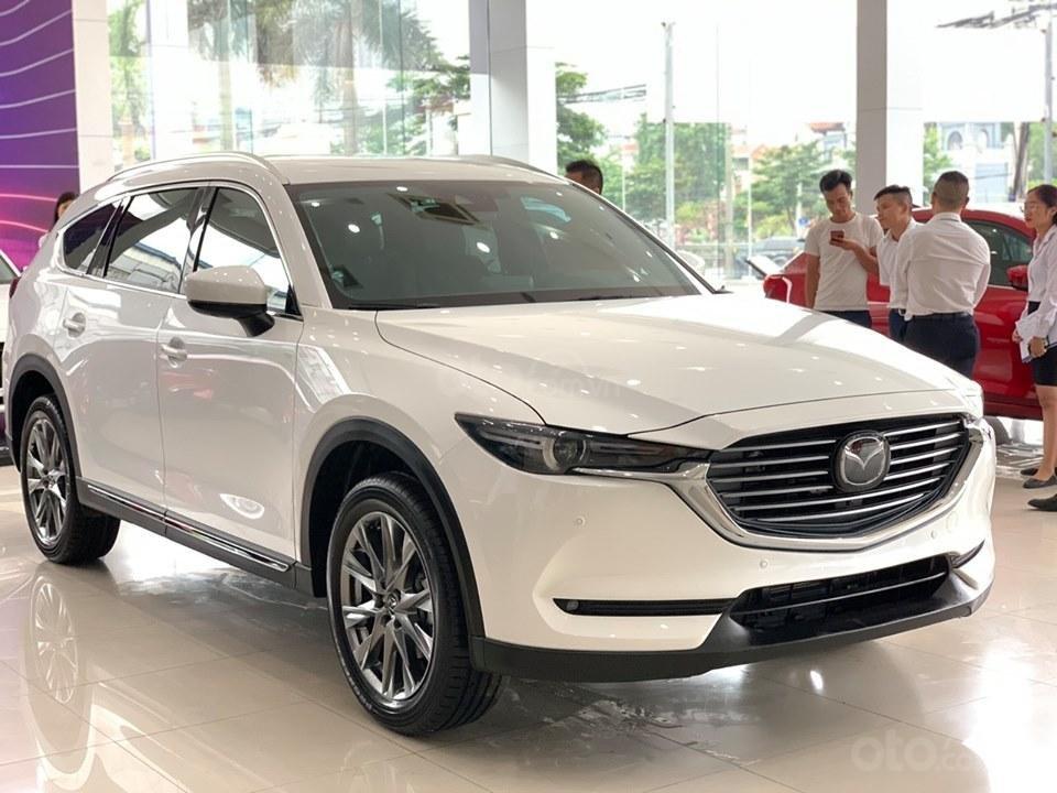 [Mazda Giải Phóng] CX-8 2.5 Premium cao cấp - Trắng ngọc trai tinh tế 0963 854 883 (1)