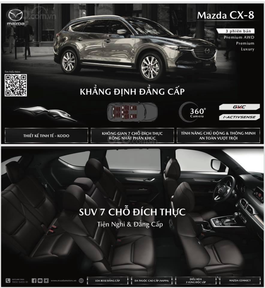 [Mazda Giải Phóng] CX-8 2.5 Premium cao cấp - Trắng ngọc trai tinh tế 0963 854 883 (11)