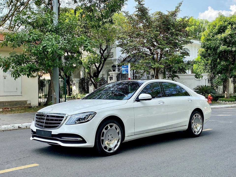 MBA Auto - Bán xe Mercedes S450 trắng model 2019 - trả trước 1 tỷ 500 nhận xe ngay (2)