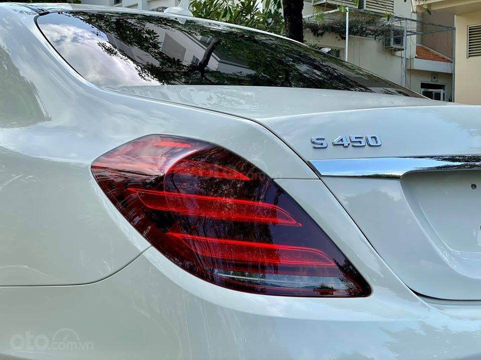 MBA Auto - Bán xe Mercedes S450 trắng model 2019 - trả trước 1 tỷ 500 nhận xe ngay (8)