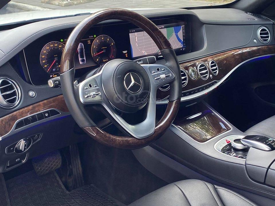 MBA Auto - Bán xe Mercedes S450 trắng model 2019 - trả trước 1 tỷ 500 nhận xe ngay (13)