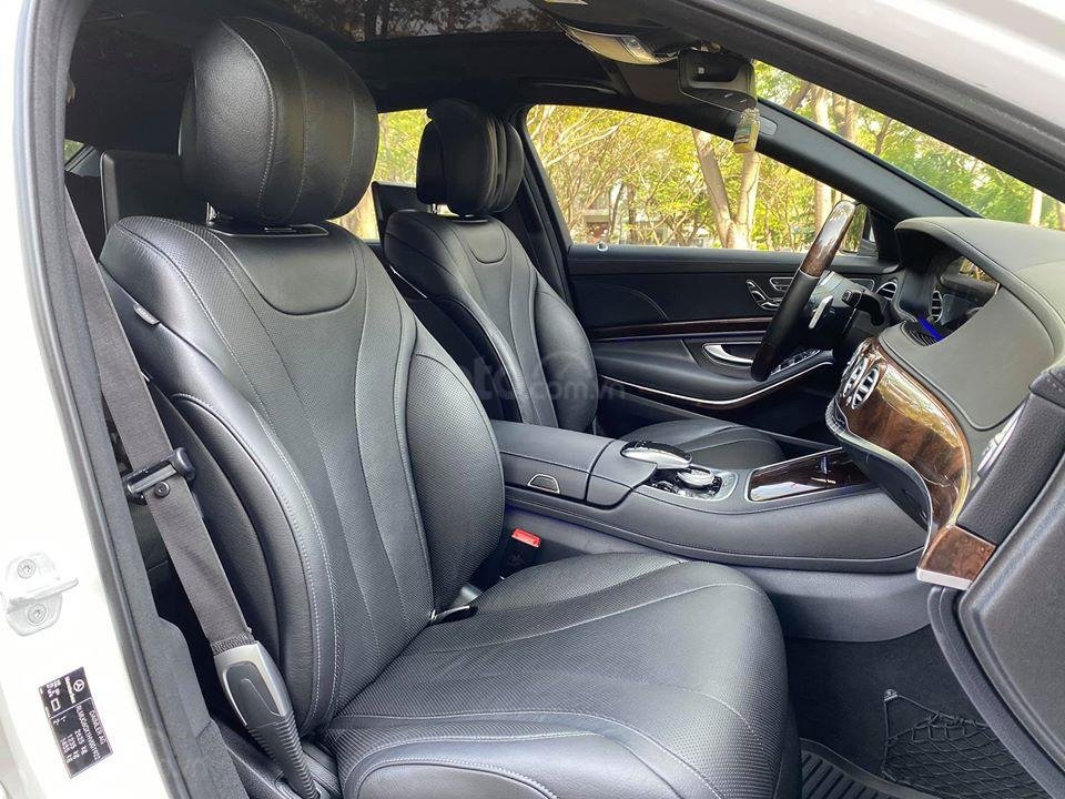 MBA Auto - Bán xe Mercedes S450 trắng model 2019 - trả trước 1 tỷ 500 nhận xe ngay (6)