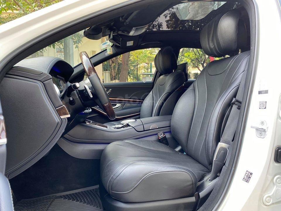 MBA Auto - Bán xe Mercedes S450 trắng model 2019 - trả trước 1 tỷ 500 nhận xe ngay (20)