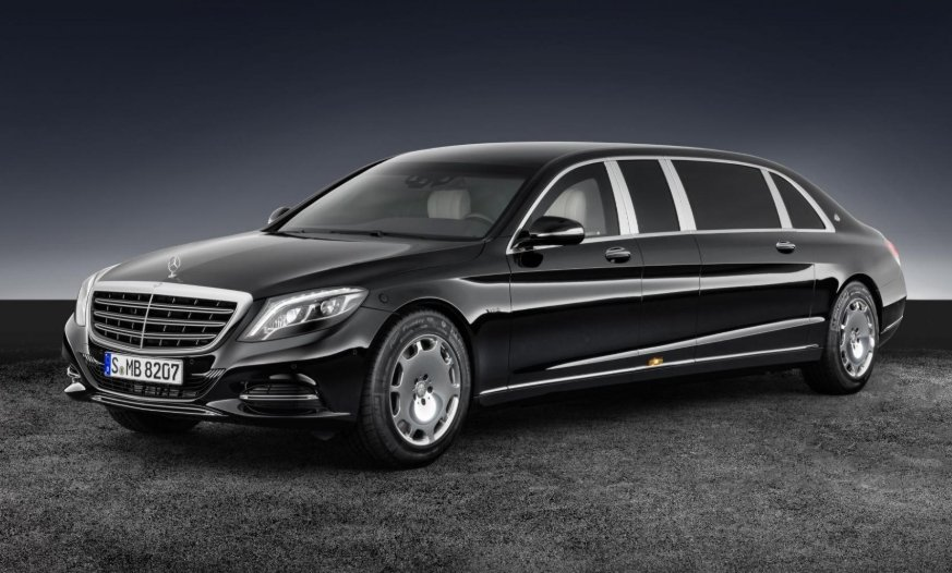 Mercedes-Maybach Pullman Guard.