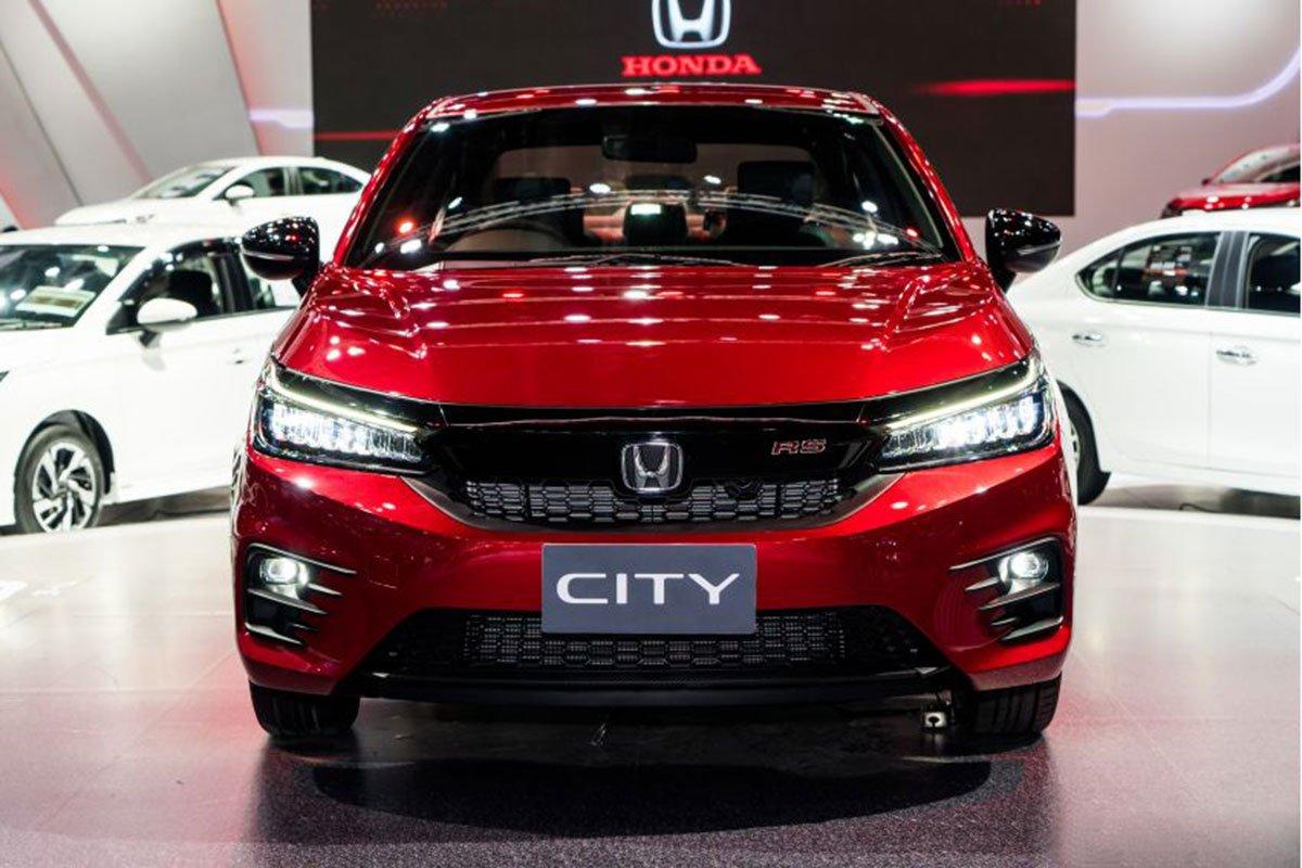 Ảnh chi tiết Honda City 2020: Đẹp thế này Toyota Vios cũng e ngại a1