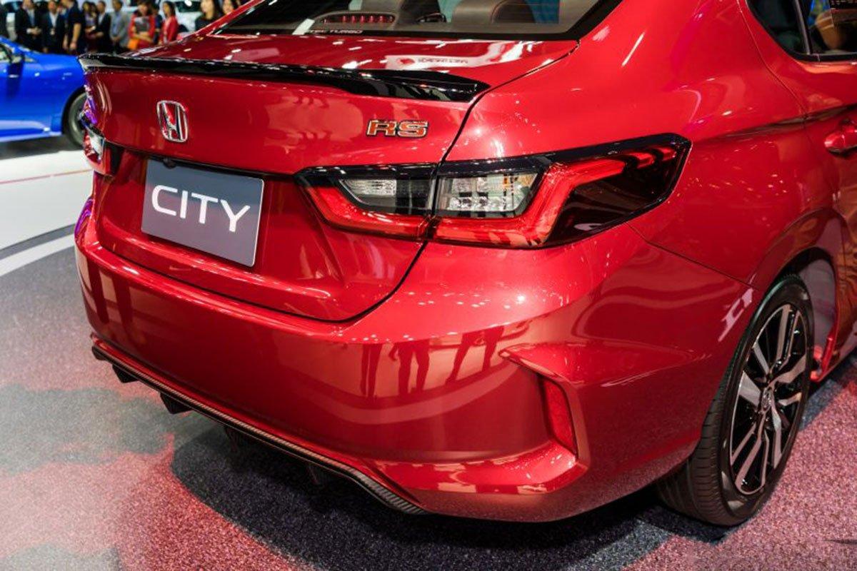 Ảnh chi tiết Honda City 2020: Đẹp thế này Toyota Vios cũng e ngại a11
