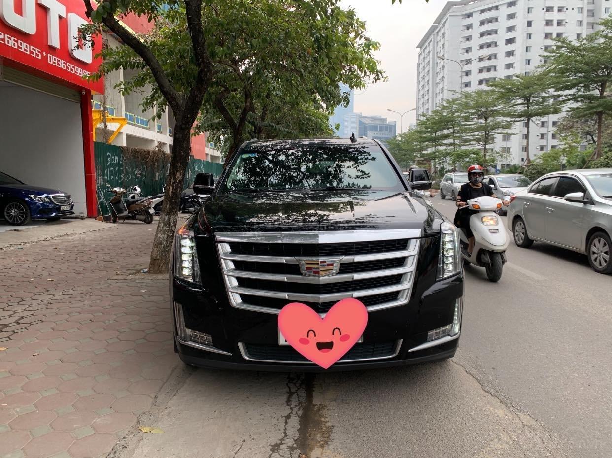 Cần bán Cadillac Escalade ESV Premium 2015, màu đen (1)