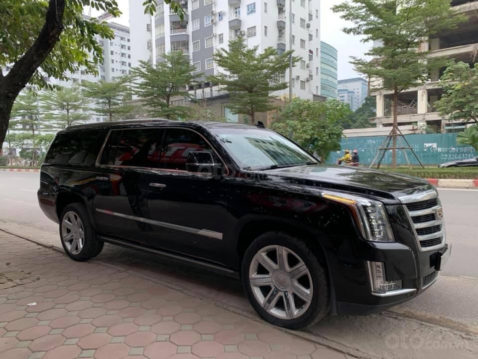 Cần bán Cadillac Escalade ESV Premium 2015, màu đen (5)