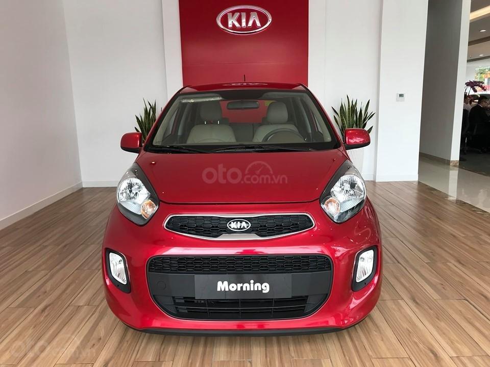 Kia Morning AT giá rẻ nhất chỉ 329tr, giảm giá, tặng miễn phí BD 20.000km + phụ kiện, đưa trước 20% lấy xe (1)