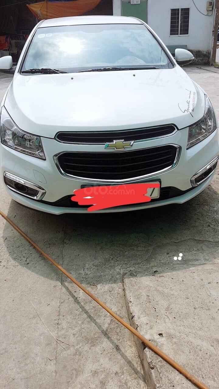 Bán Chevrolet Cruze LT đời 2016, màu trắng, giá chỉ 390 triệu (1)