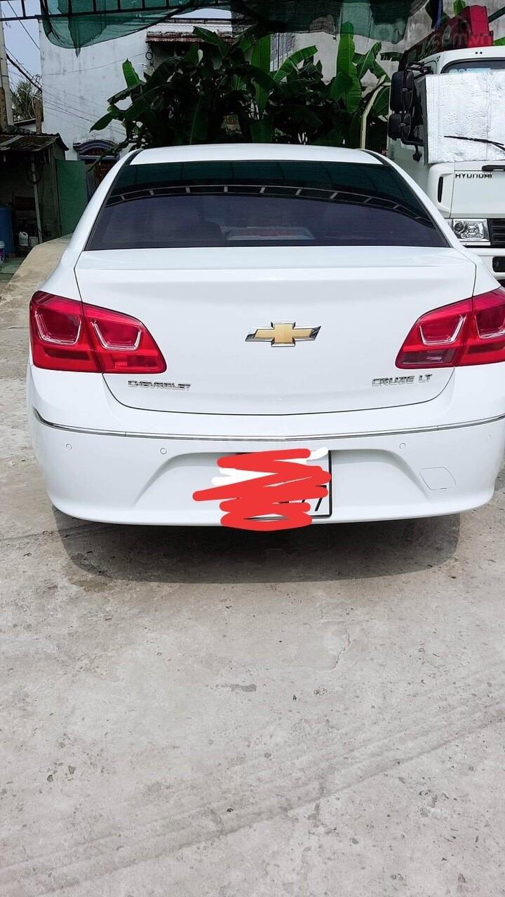 Bán Chevrolet Cruze LT đời 2016, màu trắng, giá chỉ 390 triệu (4)
