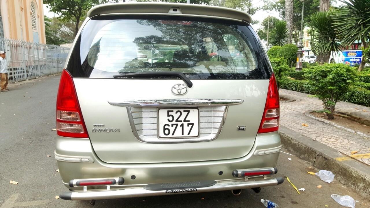 Bán ô tô Toyota Innova G đk T10/2006, liên hệ chính chủ 0913993465 Thanh (5)