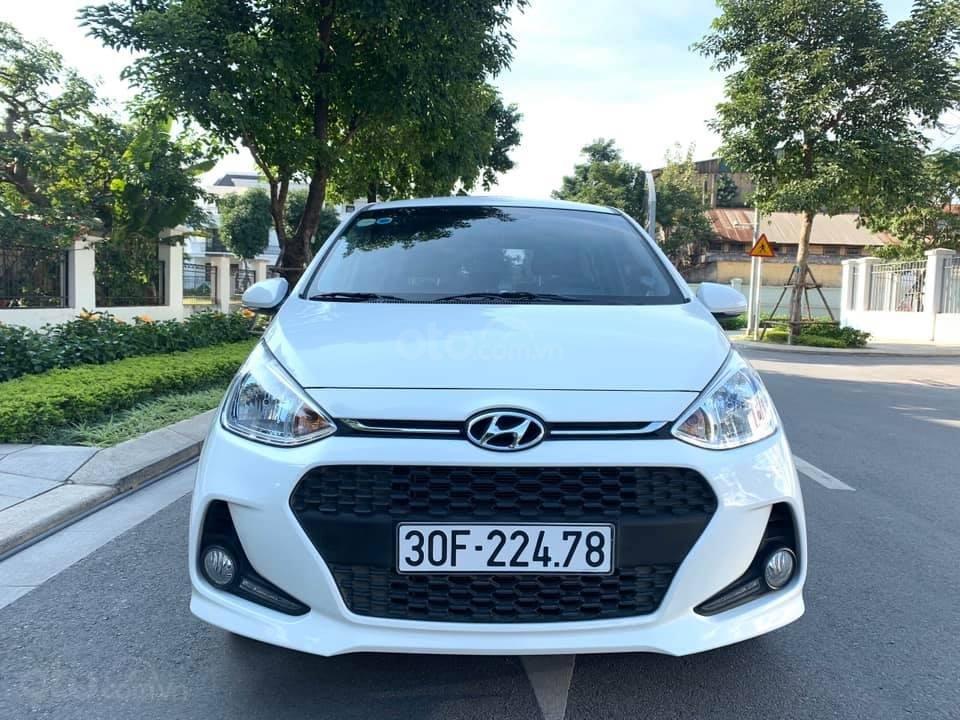 Bán xe Hyundai Grand i10 1.2 sản xuất 2018, màu trắng - Liên hệ 0979536168 (1)
