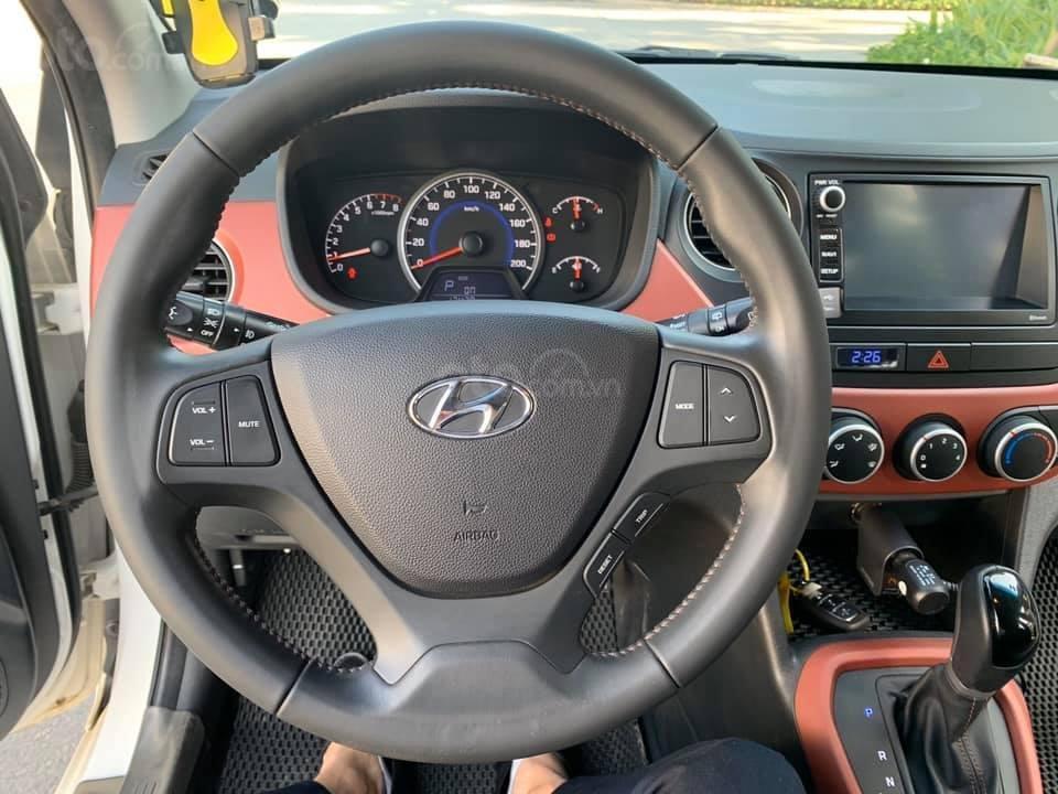 Bán xe Hyundai Grand i10 1.2 sản xuất 2018, màu trắng - Liên hệ 0979536168 (5)