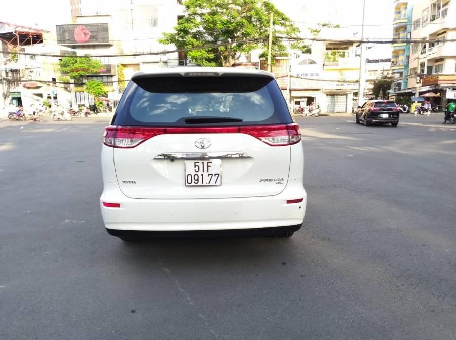 Bán Toyota Previa 2010, màu trắng, nhập khẩu   (4)