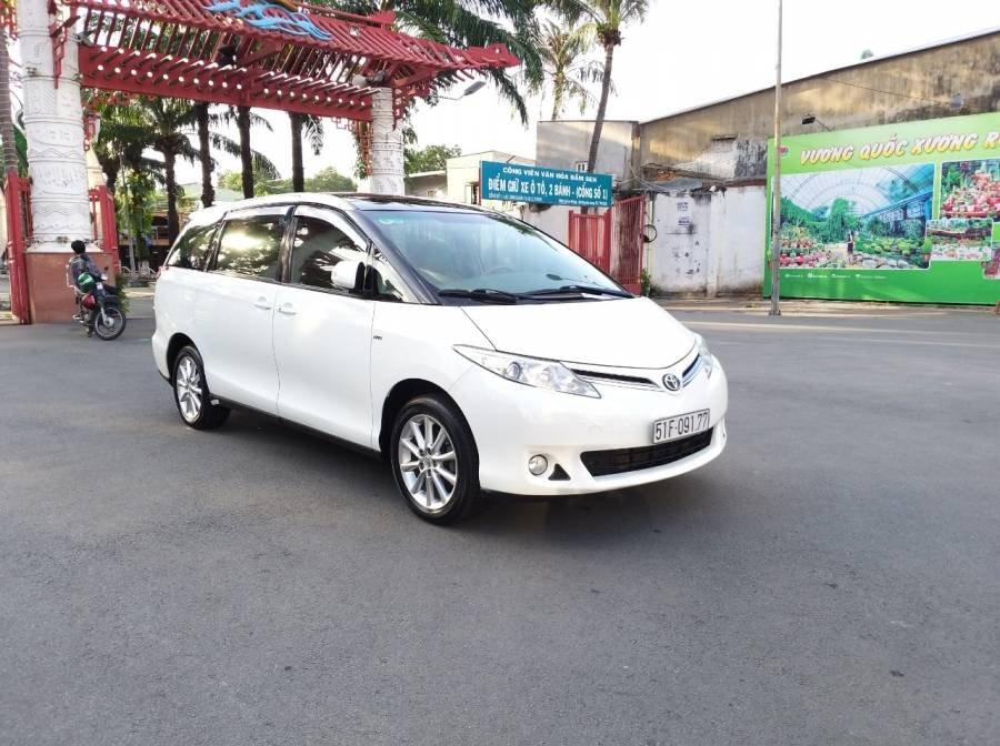 Bán Toyota Previa 2010, màu trắng, nhập khẩu   (5)